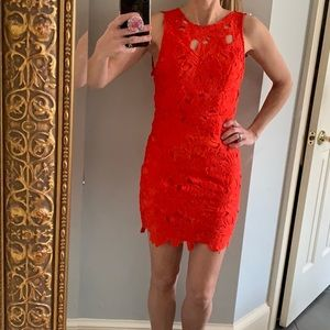 Adorable lace dress by tea & cup size S